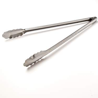 Serving Utensil, Stainless Utility Tong 11""