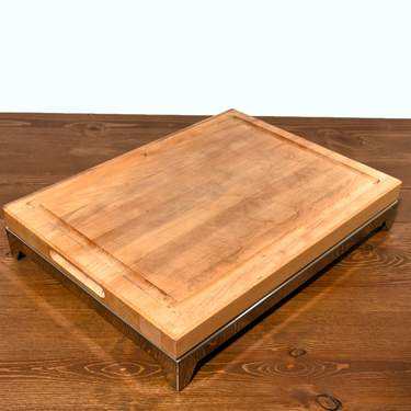 Cutting Board, Wood With S/S Base 18x24 Freedom (Component)