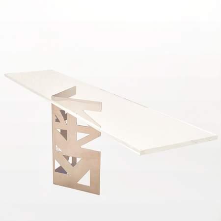 "Riser Shelf, Lexus 33"" X 7"" Clear Acrylic"