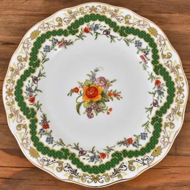 """China, Antoinette Verte Salad/Dessert Plate 8"""""""
