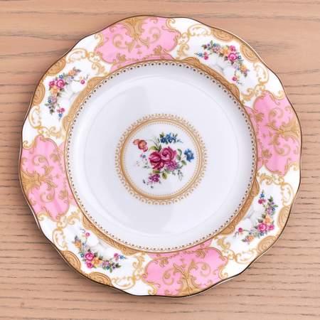 Antoinette Rose Salad/Dessert Plate