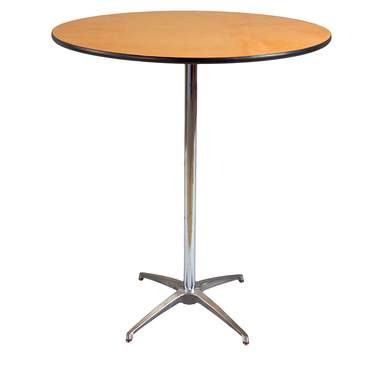 "Table Round Pedestal 36"" X 42""H"