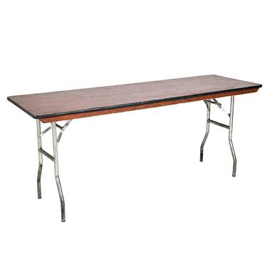 Banquet Table 6' x 24""