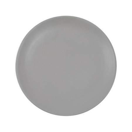 "Lucca Grey Salad/Dessert Plate 8"""