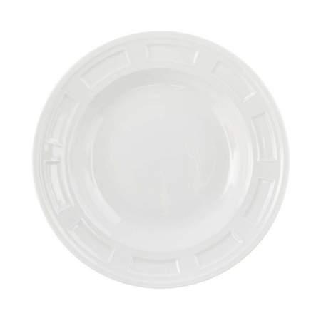 """White Porcelain Bellagio Bowl 9"""""""