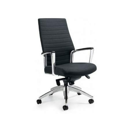 Exceptional Accord Hi Back Chair   Black