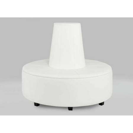 Remarkable Essentials White Banquette High Top Rentals Rental Ncnpc Chair Design For Home Ncnpcorg