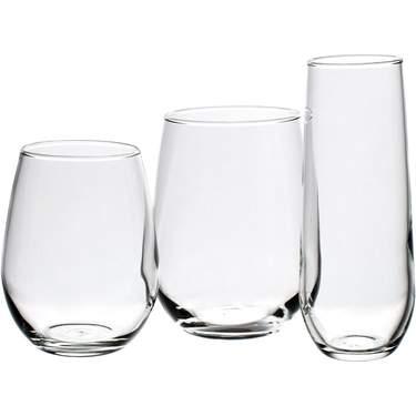 Stemless Glassware Pattern
