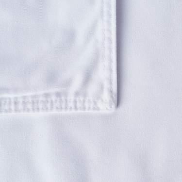 "Cotton Blend White 20"" x 20"" Napkin"