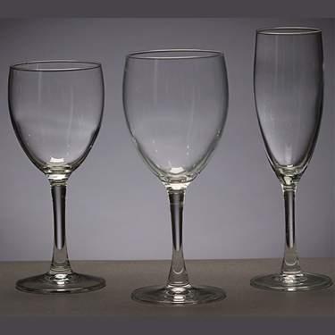 Water Goblet Long Stem 12 oz.