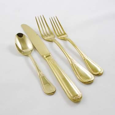 Gold Savoy Salad Fork
