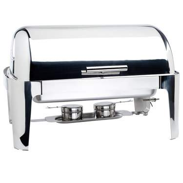 Chafer 8 qt Roll Top S/S High Polish