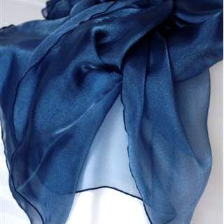 Organza Navy Blue