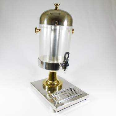 Beverage Dispenser 2.2 gal Acrylic Gold
