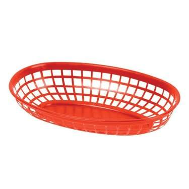 "Basket Cracker, 10""   x   7"" Plastic assorted colors"