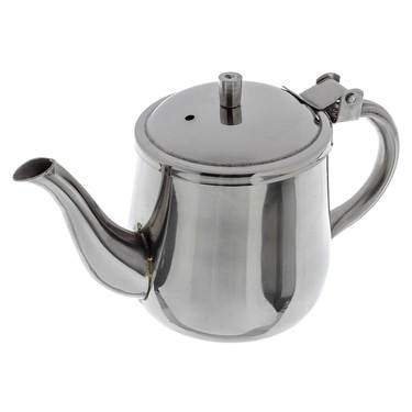 Tea Pot S/S 10 oz  Single Serving