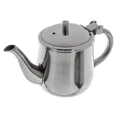 Tea Pot S/S 10 oz  Single Serving