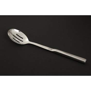 Spoon Serving  Slotted Long Handle S/S