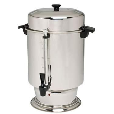 Coffee Maker 100 Cup Aluminum