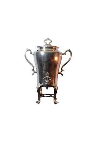 Urn 100 cup Silver Ornate
