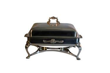 Chafer 8 qt Rect Silver