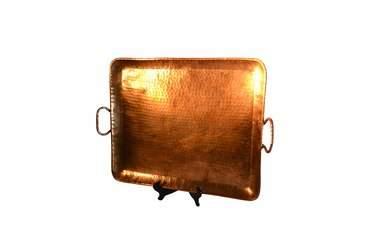 """Tray 18""""  x  22"""" Rect Copper"""