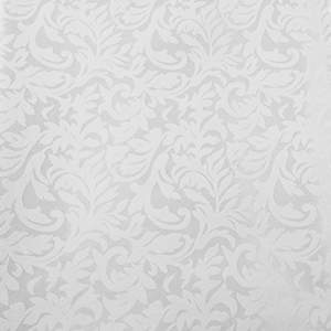 Damask White Wedding Damask