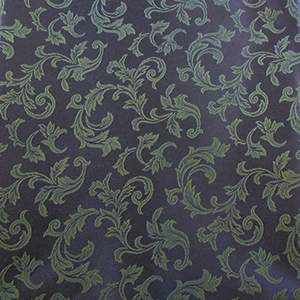 Damask Scroll Federal Blue