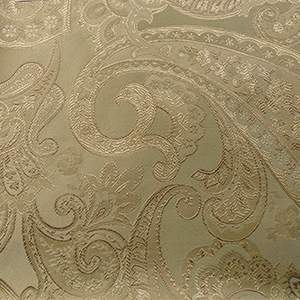 Damask Tuft Candy Parchment Chair Tie