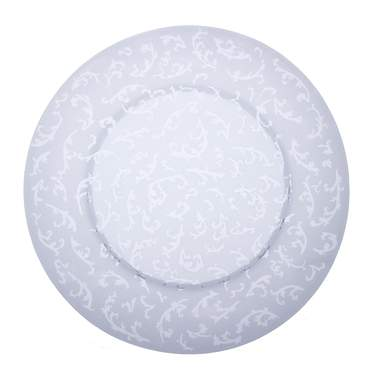 Frost Chantilly Glass Charger