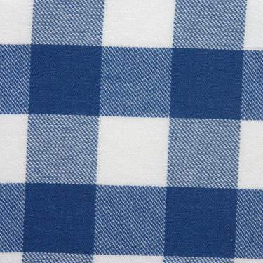 Poly Check Royal Blue & White