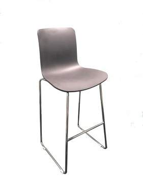 Black with Back Frame Barstool