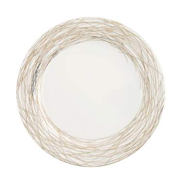 Nest Gold Coupe Plate 10.5""