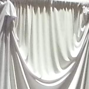 Drape 16' White Lycra