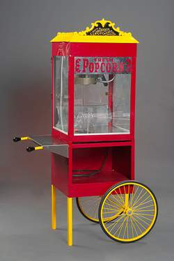 Popcorn Machine-Wagon