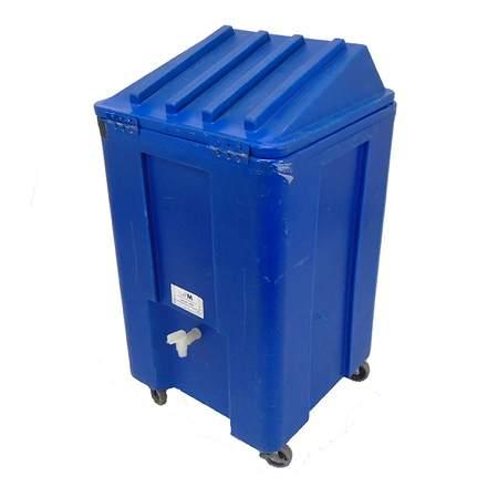 Ice Caddy on Wheels (Blue)