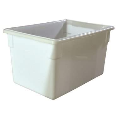 "White Lexan Tub 26"" x 18"""