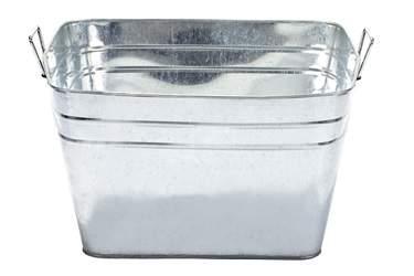Tub Ice Galvonized