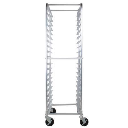 Open Sheet Pan Rolling Rack - 20 Pan Capacity