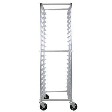 Open Sheet Pan Rolling Rack - 20 Pan Capacity