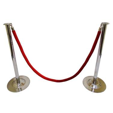 Stanchion 6' Red Rope