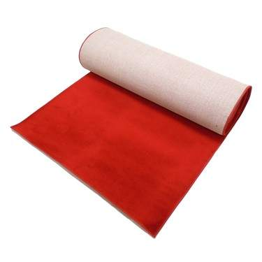 Carpet Red 32' Unfinished Edge
