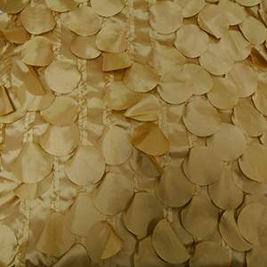 Petal Taffeta Gold