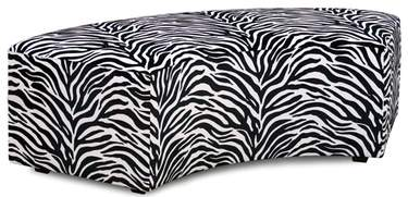 Banquette InCurve Backless ZEBRA