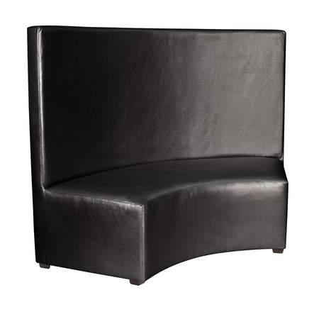 Banquette InCurve Full Back Black