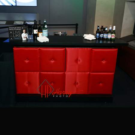 Pixel Bar Red Lamour w/Button