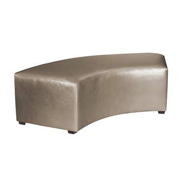Pewter Vinyl InCurve Backless Cover