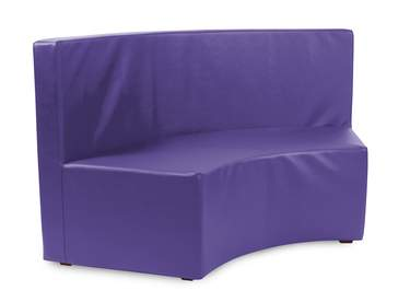 Purple Vinyl InCurve Backless Cover