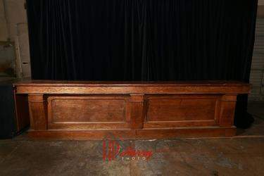 16' Oak Western Bar