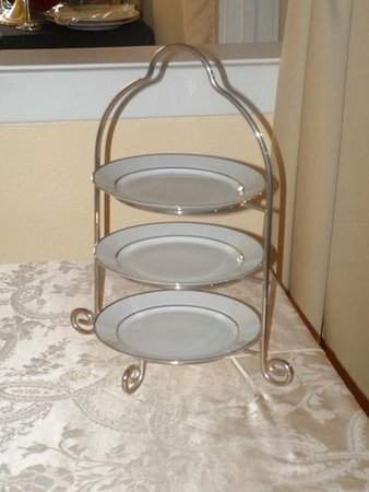 Stand 2 Tier Iron Rentals Buffet And Serving Piece Rentals